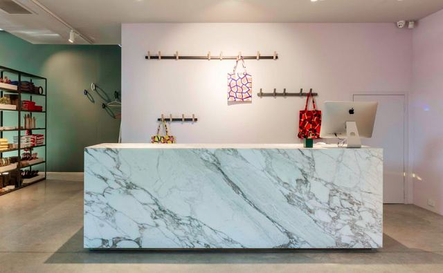 Calacatta Vagli Counter at HAY store.jpg