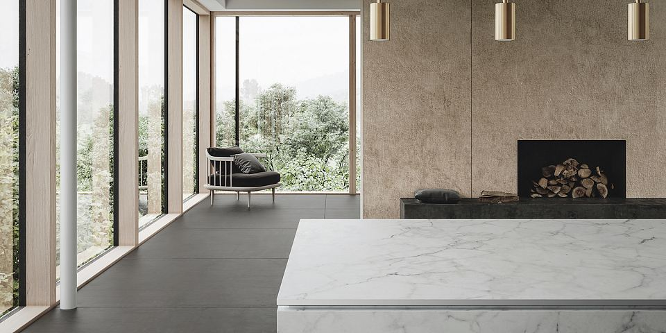 Artetech Essenza Ferro floor, Marmietta Gioia bench and Tessuto Crema wall.jpg